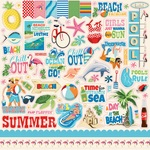 Summer Splash Sticker Sheet - Carta Bella
