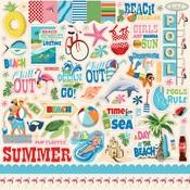 Summer Splash Sticker Sheet - Carta Bella