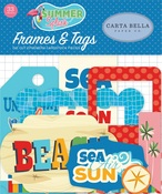 Summer Splash Frames & Tags - Carta Bella