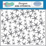 Collecting Starfish Stencil - Carta Bella - PRE ORDER