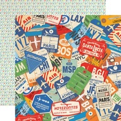 World Traveler Paper - Passport - Carta Bella