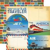 4X6 Journaling Card Paper - Passport - Carta Bella