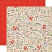 Passport Stamps Paper - Passport - Carta Bella
