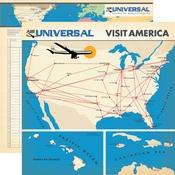 Flight Map Paper - Passport - Carta Bella