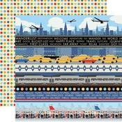 Border Strips Paper - Passport - Carta Bella