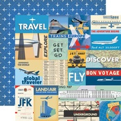 Multi Journaling Card Paper - Passport - Carta Bella