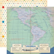 Bon Voyage Paper - Passport - Carta Bella