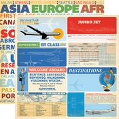 Journaling Card Paper - Passport - Carta Bella