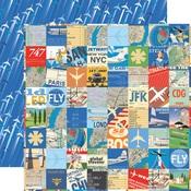 Travel Squares Paper - Passport - Carta Bella
