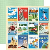 Destination Cards Paper - Passport - Carta Bella