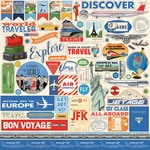 Passport Sticker Sheet - Carta Bella