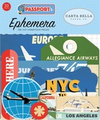 Passport Ephemera - Carta Bella