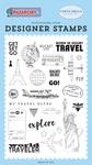 Get Set Go Stamp - Carta Bella