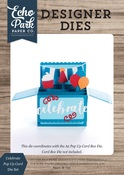 Celebrate Pop Up Card Die Set - Echo Park