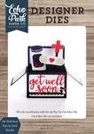 Get Well Soon Pop Up Card Die Set - Echo Park