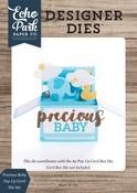 Precious Baby Pop Up Card Die Set - Echo Park - PRE ORDER