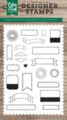 Simple Labels Stamp - Echo Park