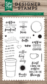 Coffee & Friends Stamp - Echo Park - PRE ORDER