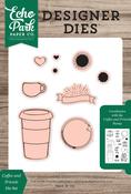 Coffee & Friends Die Set - Echo Park - PRE ORDER