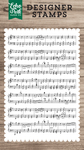 Sheet Music Stamp - Echo Park - PRE ORDER