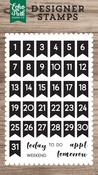 Calendar Days Stamp - Echo Park - PRE ORDER