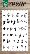 Avery Lowercase Stamp - Echo Park - PRE ORDER