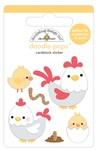 Hen & Chicks Doodlepop - Down On The Farm - Doodlebug