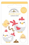 Hen & Chicks Doodlepop - Down On The Farm - Doodlebug