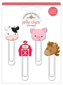 Farm Friends Jelly Clips - Doodlebug