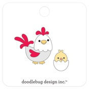Hen & Chick Collectible Pins - Doodlebug