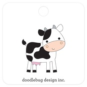 Cow Collectible Pin - Doodlebug