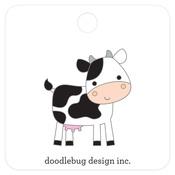 Cow Collectible Pin - Doodlebug