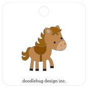 Horsey Collectible Pin - Doodlebug
