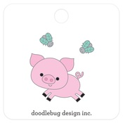 Piggy Collectible Pins - Doodlebug
