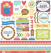 Down On the Farm This & That Sticker Sheet - Doodlebug