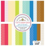 Down On The Farm Petite Print Assortment Pack - Doodlebug - PRE ORDER