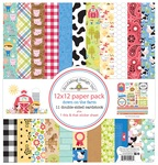 Down On The Farm Paper Pack - Doodlebug - PRE ORDER