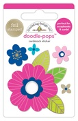 Pink Poppy Doodlepop - Doodlebug