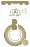 Gold Scallop Washi Tape - Doodlebug
