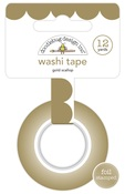 Gold Scallop Washi Tape - Doodlebug
