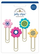Beautiful Blooms Jelly Clips - Doodlebug