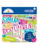 Hello Chit Chat Pieces - Doodlebug