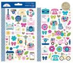 Hello Mini Icon Stickers - Doodlebug - PRE ORDER