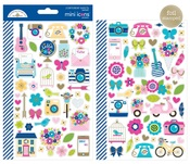 Hello Mini Icon Stickers - Doodlebug