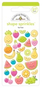 Fun Fruit Shape Sprinkles - Doodlebug