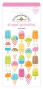 Cool Treats Shape Sprinkles - Doodlebug