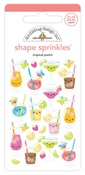 Tropical Punch Shape Sprinkles - Doodlebug