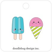 Summer Treats Pins - Doodlebug