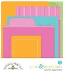Summer Assortment Cards & Envelopes - Doodlebug