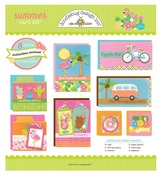 Summer Card Kit - Doodlebug